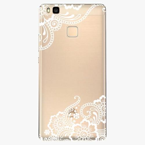 Silikonové pouzdro iSaprio - White Lace 02 na mobil Huawei P9 Lite