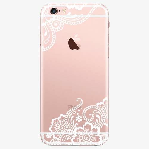 Silikonové pouzdro iSaprio - White Lace 02 na mobil Apple iPhone 7 Plus