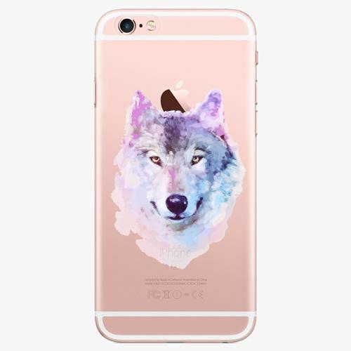 Silikonové pouzdro iSaprio - Wolf 01 na mobil Apple iPhone 7 Plus