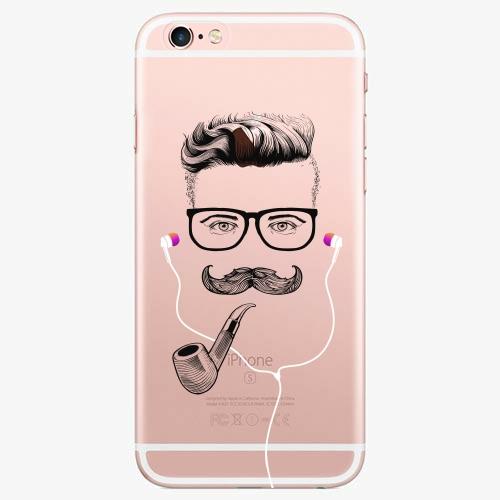 Silikonové pouzdro iSaprio - Man With Headphones 01 na mobil Apple iPhone 7 Plus