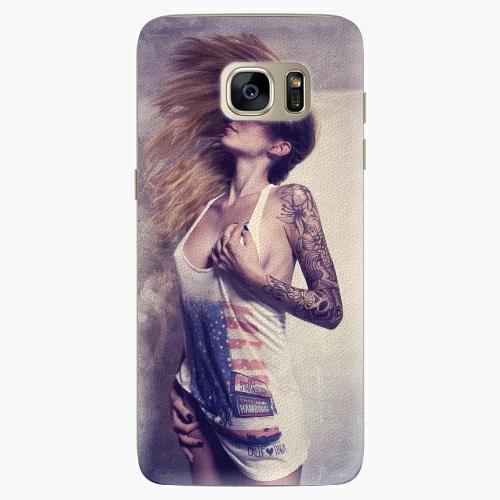 Silikonové pouzdro iSaprio - Girl 01 na mobil Samsung Galaxy S7 Edge (Silikonový obal, pouzdro, kryt iSaprio s motivem Girl 01 na mobilní telefon Samsung Galaxy S7 Edge)