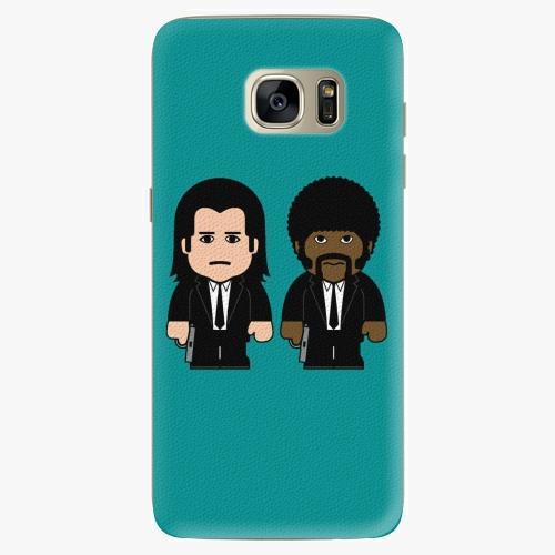 Silikonové pouzdro iSaprio - Pulp Fiction na mobil Samsung Galaxy S7 Edge (Silikonový obal, pouzdro, kryt iSaprio s motivem Pulp Fiction na mobilní telefon Samsung Galaxy S7 Edge)