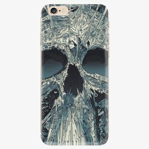 Silikonové pouzdro iSaprio - Abstract Skull na mobil Apple iPhone 6/ 6S