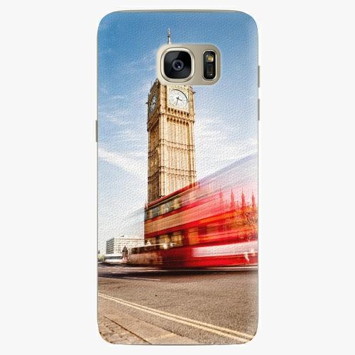 Silikonové pouzdro iSaprio - London 01 na mobil Samsung Galaxy S7 Edge (Silikonový obal, pouzdro, kryt iSaprio s motivem London 01 na mobilní telefon Samsung Galaxy S7 Edge)