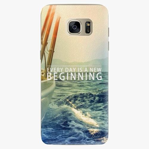Silikonové pouzdro iSaprio - Beginning na mobil Samsung Galaxy S7 Edge (Silikonový obal, pouzdro, kryt iSaprio s motivem Beginning na mobilní telefon Samsung Galaxy S7 Edge)