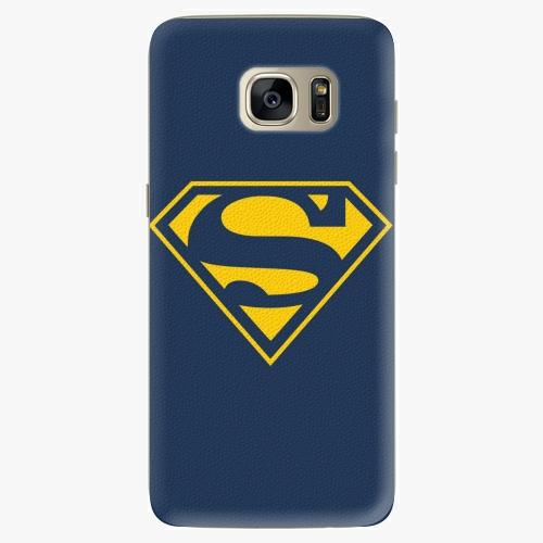 Silikonové pouzdro iSaprio - Superman 03 na mobil Samsung Galaxy S7