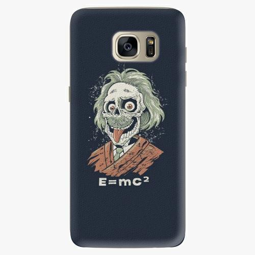 Silikonové pouzdro iSaprio - Einstein 01 na mobil Samsung Galaxy S7 Edge (Silikonový obal, pouzdro, kryt iSaprio s motivem Einstein 01 na mobilní telefon Samsung Galaxy S7 Edge)
