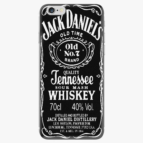 Silikonové pouzdro iSaprio - Jack Daniels na mobil Apple iPhone 7 Plus