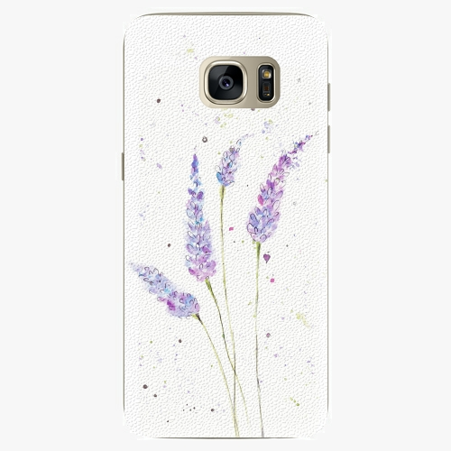Silikonové pouzdro iSaprio - Lavender na mobil Samsung Galaxy S7 Edge (Silikonový obal, pouzdro, kryt iSaprio s motivem Lavender na mobilní telefon Samsung Galaxy S7 Edge)