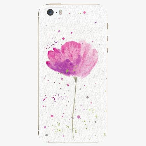 Silikonové pouzdro iSaprio - Poppies na mobil Apple iPhone 5/ 5S/ SE