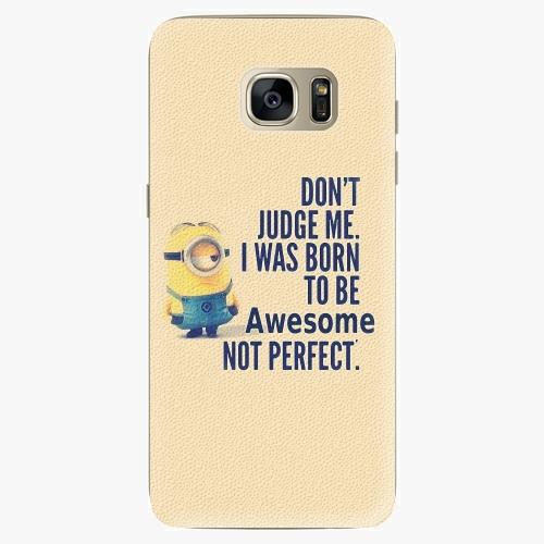 Silikonové pouzdro iSaprio - Be Awesome na mobil Samsung Galaxy S7 Edge (Silikonový obal, pouzdro, kryt iSaprio s motivem Be Awesome na mobilní telefon Samsung Galaxy S7 Edge)
