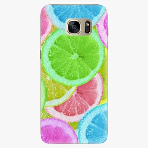 Silikonové pouzdro iSaprio - Lemon 02 na mobil Samsung Galaxy S7 Edge (Silikonový obal, pouzdro, kryt iSaprio s motivem Lemon 02 na mobilní telefon Samsung Galaxy S7 Edge)