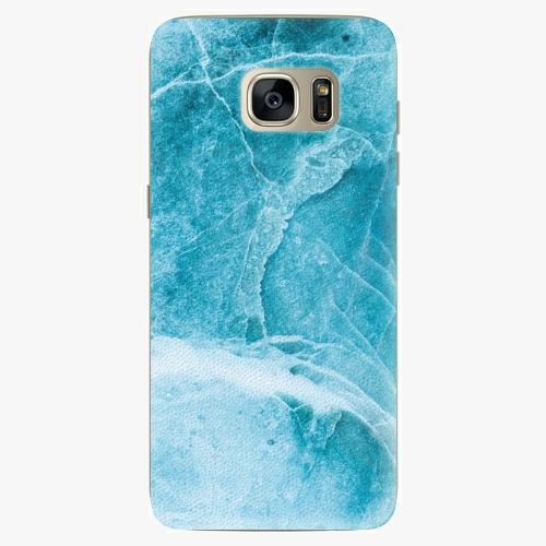 Silikonové pouzdro iSaprio - Blue Marble na mobil Samsung Galaxy S7 Edge (Silikonový obal, pouzdro, kryt iSaprio s motivem Blue Marble na mobilní telefon Samsung Galaxy S7 Edge)