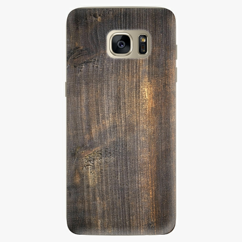 Silikonové pouzdro iSaprio - Old Wood na mobil Samsung Galaxy S7 Edge (Silikonový obal, pouzdro, kryt iSaprio s motivem Old Wood na mobilní telefon Samsung Galaxy S7 Edge)