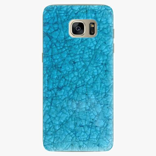 Silikonové pouzdro iSaprio - Shattered Glass na mobil Samsung Galaxy S7 Edge (Silikonový obal, pouzdro, kryt iSaprio s motivem Shattered Glass na mobilní telefon Samsung Galaxy S7 Edge)