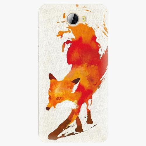 Silikonové pouzdro iSaprio - Fast Fox na mobil Huawei Y5 II / Y6 II Compact