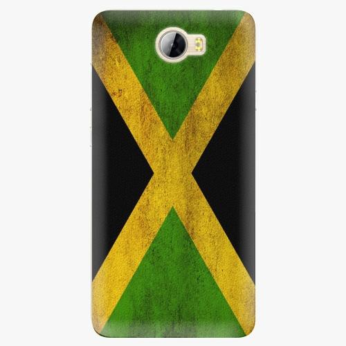 Silikonové pouzdro iSaprio - Flag of Jamaica na mobil Huawei Y5 II / Y6 II Compact