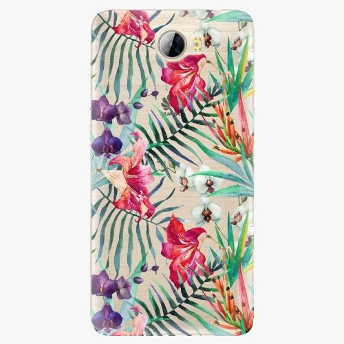 Silikonové pouzdro iSaprio - Flower Pattern 03 na mobil Huawei Y5 II / Y6 II Compact