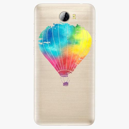 Silikonové pouzdro iSaprio - Flying Baloon 01 na mobil Huawei Y5 II / Y6 II Compact