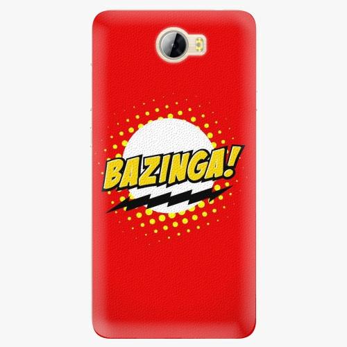 Silikonové pouzdro iSaprio - Bazinga 01 na mobil Huawei Y5 II / Y6 II Compact