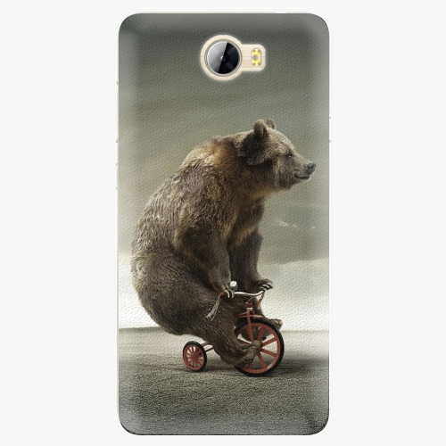 Silikonové pouzdro iSaprio - Bear 01 na mobil Huawei Y5 II / Y6 II Compact