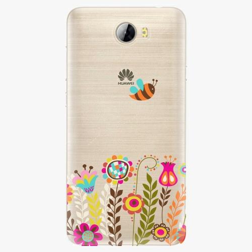 Silikonové pouzdro iSaprio - Bee 01 na mobil Huawei Y5 II / Y6 II Compact