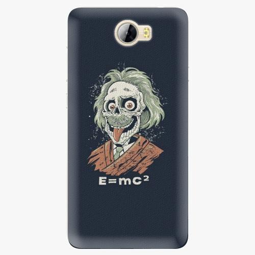 Silikonové pouzdro iSaprio - Einstein 01 na mobil Huawei Y5 II / Y6 II Compact