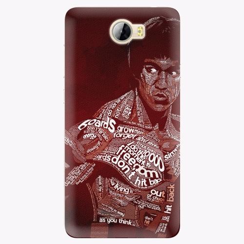 Silikonové pouzdro iSaprio - Bruce Lee na mobil Huawei Y5 II / Y6 II Compact