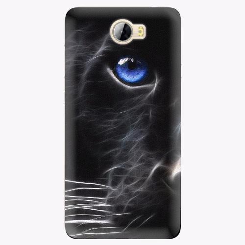 Silikonové pouzdro iSaprio - Black Puma na mobil Huawei Y5 II / Y6 II Compact
