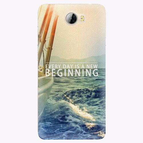 Silikonové pouzdro iSaprio - Beginning na mobil Huawei Y5 II / Y6 II Compact