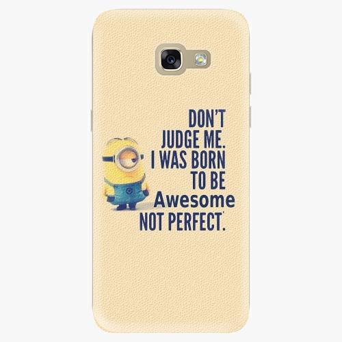 Silikonové pouzdro iSaprio - Be Awesome na mobil Samsung Galaxy A5 2017