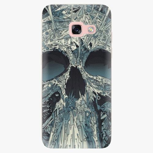 Silikonové pouzdro iSaprio - Abstract Skull na mobil Samsung Galaxy A3 2017
