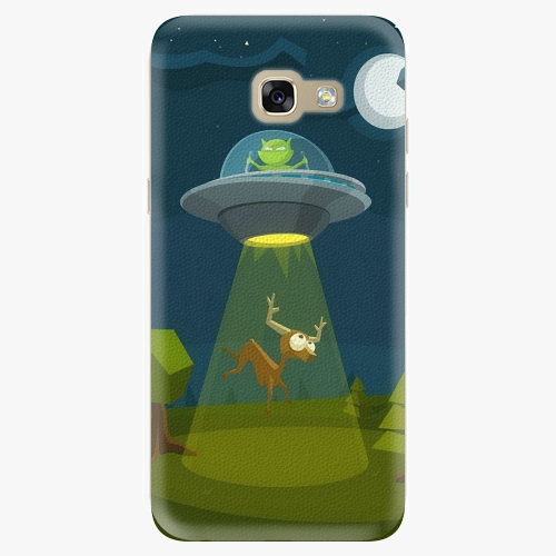 Silikonové pouzdro iSaprio - Alien 01 na mobil Samsung Galaxy A5 2017