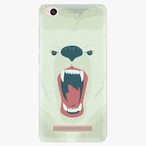 Silikonové pouzdro iSaprio - Angry Bear na mobil Xiaomi Redmi 4A