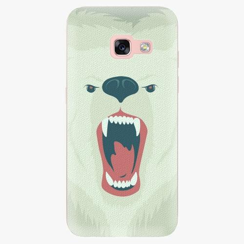 Silikonové pouzdro iSaprio - Angry Bear na mobil Samsung Galaxy A3 2017
