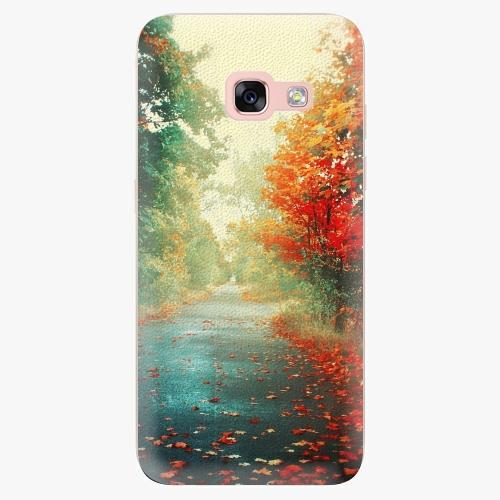 Silikonové pouzdro iSaprio - Autumn 03 na mobil Samsung Galaxy A3 2017
