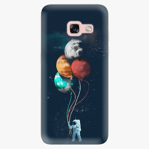 Silikonové pouzdro iSaprio - Balloons 02 na mobil Samsung Galaxy A3 2017