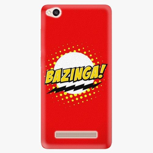 Silikonové pouzdro iSaprio - Bazinga 01 na mobil Xiaomi Redmi 4A
