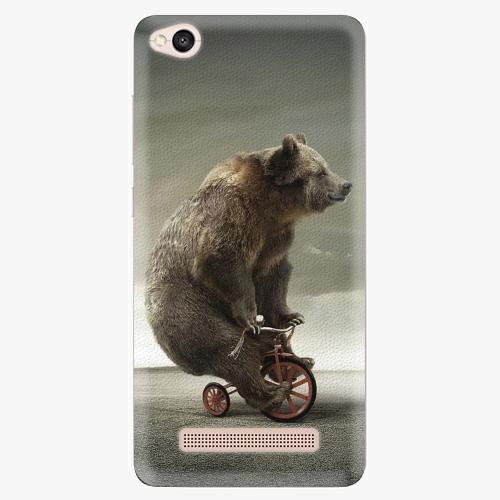 Silikonové pouzdro iSaprio - Bear 01 na mobil Xiaomi Redmi 4A