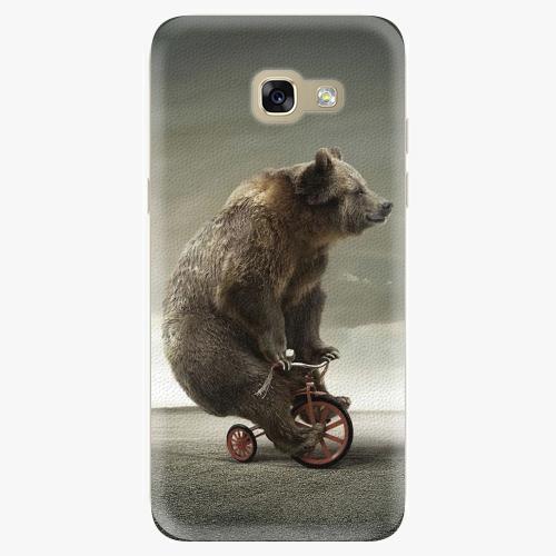 Silikonové pouzdro iSaprio - Bear 01 na mobil Samsung Galaxy A5 2017