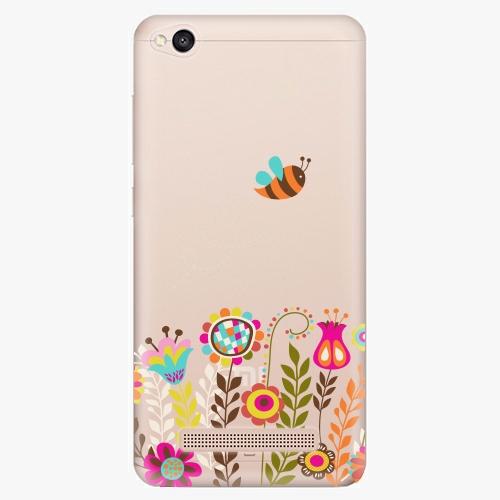 Silikonové pouzdro iSaprio - Bee 01 na mobil Xiaomi Redmi 4A