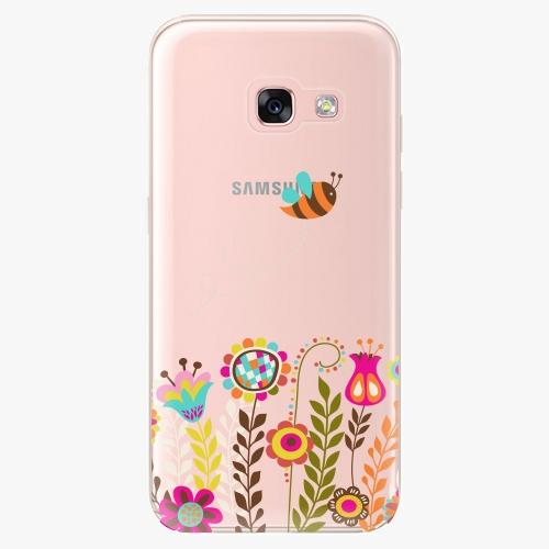 Silikonové pouzdro iSaprio - Bee 01 na mobil Samsung Galaxy A3 2017