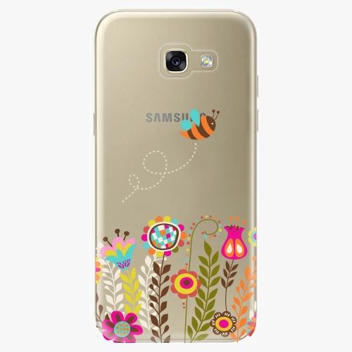 Silikonové pouzdro iSaprio - Bee 01 na mobil Samsung Galaxy A5 2017