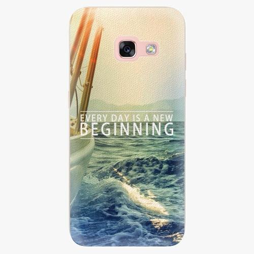 Silikonové pouzdro iSaprio - Beginning na mobil Samsung Galaxy A3 2017