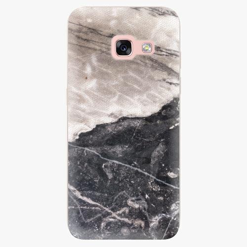 Silikonové pouzdro iSaprio - BW Marble na mobil Samsung Galaxy A3 2017