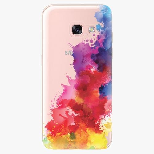 Silikonové pouzdro iSaprio - Color Splash 01 na mobil Samsung Galaxy A3 2017