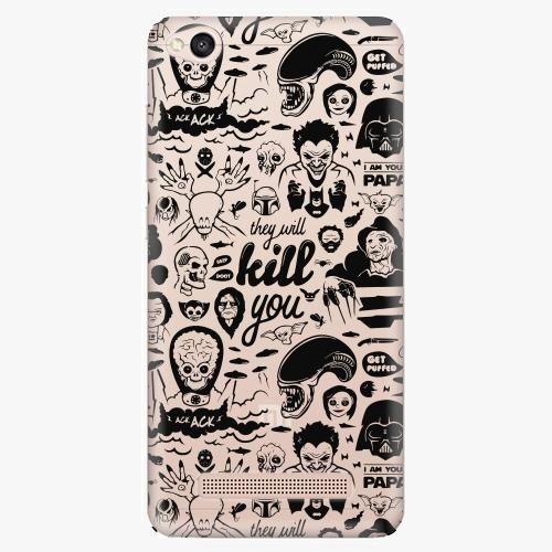 Silikonové pouzdro iSaprio - Comics 01 na mobil Xiaomi Redmi 4A