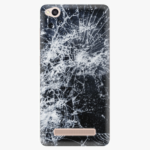 Silikonové pouzdro iSaprio - Cracked na mobil Xiaomi Redmi 4A