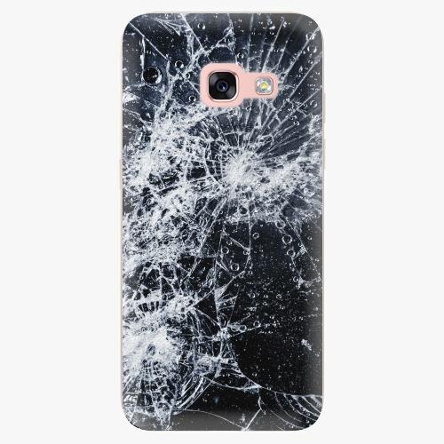 Silikonové pouzdro iSaprio - Cracked na mobil Samsung Galaxy A3 2017