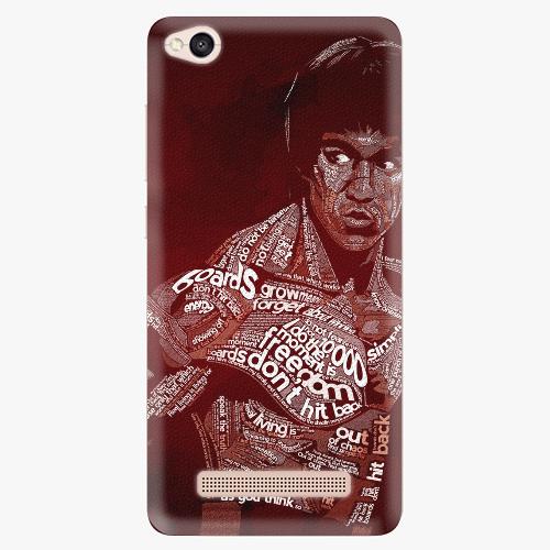 Silikonové pouzdro iSaprio - Bruce Lee na mobil Xiaomi Redmi 4A